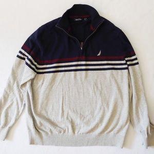 Nautica Half Zip Sweater